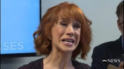 Kathy Griffin: Playwright?
